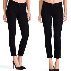 CITIZENS OF HUMANITY HIGH WAISTED SKINNY DENIM